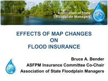 Effects of Map Changes on Flood Insurance - The Association of ...