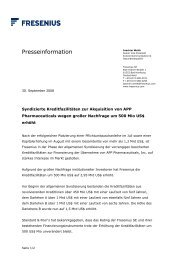 Text als PDF-Dokument - Fresenius