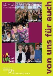 Schulmagazins - Praxis-NMS