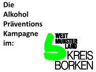 Die Alkohol Präventions Kampagne im: - Vollrausch ohne mich