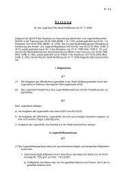 Satzung für das Jugendamt der Stadt Wolfsburg