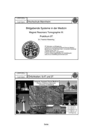 R ntgen medizinische fakult t mannheim for Grafikdesign mannheim praktikum