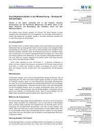 und Mieterverbandes - Lunge Zürich