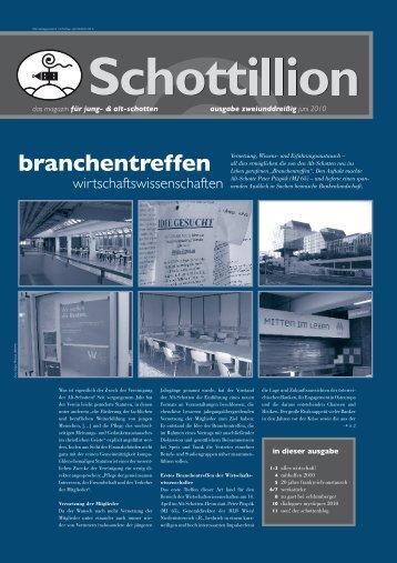 Schottillion Ausgabe Nr. 32 - Alt-Schotten