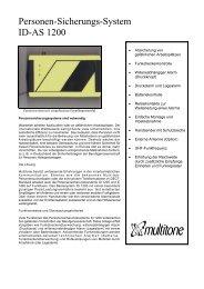 Personen-Sicherungs-System ID-AS 1200