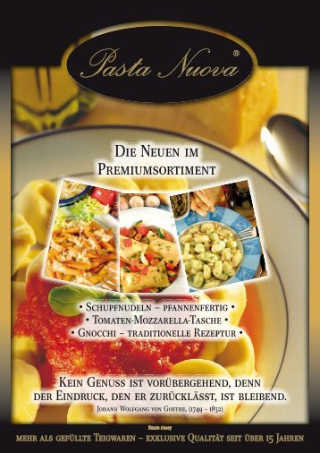 PDF-Download - Pasta Nuova