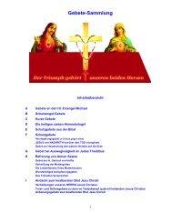 Gebete-Sammlung - Jochen-roemer.de
