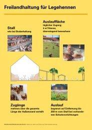Freilandhaltung für Legehennen - Infodienst - Landwirtschaft ...