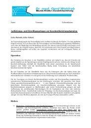 Knochenaufbau mit Knochenblock.pdf - Dr. med. Gerd Wohlrab