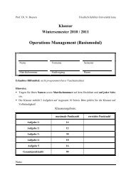 Basismodul OM vom WS 10/11 - Friedrich-Schiller-Universität Jena