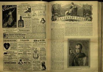 Vasárnapi Ujság - 45. évfolyam, 15. szám, 1898. április 10. - EPA