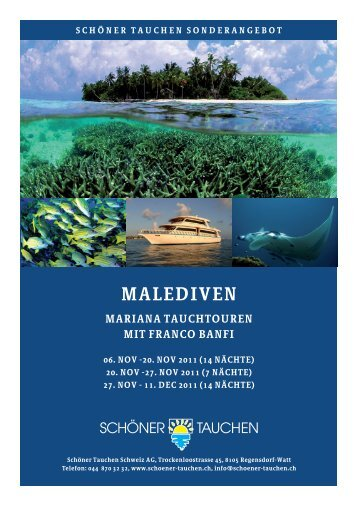 malediven mariana tauchtouren mit franco banfi