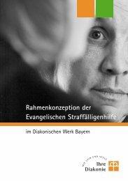 Rahmenkonzeption der Evangelischen Straffälligenhilfe
