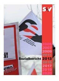 Sozialbericht 2013 - SEV