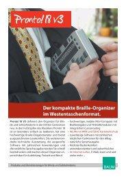 Pronto! 18 Prospekt - BAUM Retec AG