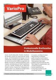 Variopro Prospekt - BAUM Retec AG