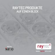 RAYTEC PRODUKTE