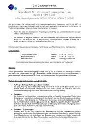Anfrageforumlar - GIS Gutachten Institut GmbH