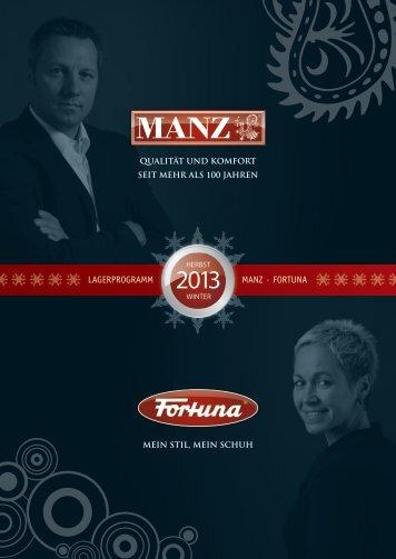 lagerprogramm manz · fortuna - Manz-Fortuna Schuhfabrik GmbH