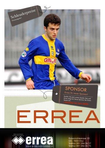 können Sie die Sponsoring Aktion als PDF Dokumetn ... - Errea Sports