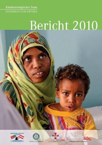 Jahresbericht 2010 - Paediatric Urology Team Austria for Eritrea
