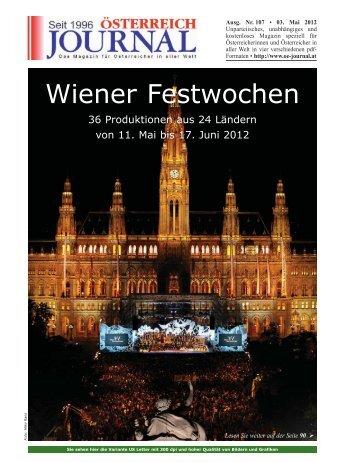 Wiener Festwochen - Österreich Journal