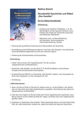 Stundenbild - JUMBO Neue Medien & Verlag