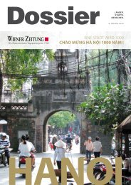 Hanoi boomt - Dr. Michael A. Waibel