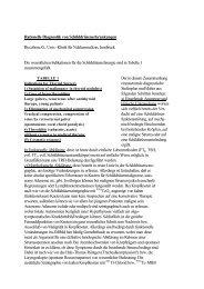 Rationelle Diagnostik von Schilddrüsenerkrankungen Riccabona G ...