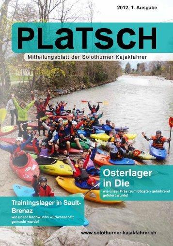 platsch 1/2012 - Solothurner Kajakfahrer