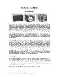 Blindlandeempf. EBl 3H - Nonstop Systems