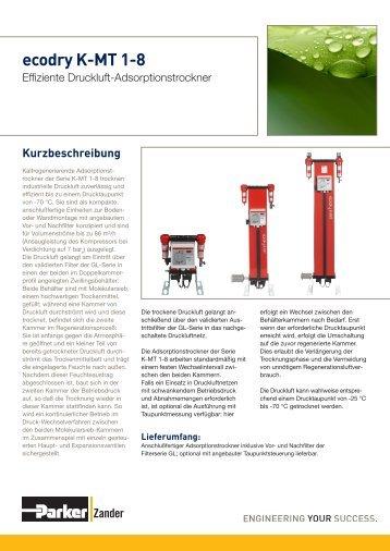 ecodry K-MT 1-8.pdf - AP Druckluftservice GmbH & Co. KG