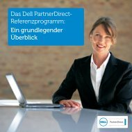 Handzettel des Fallstudienprogramms ... - Dell PartnerDirect