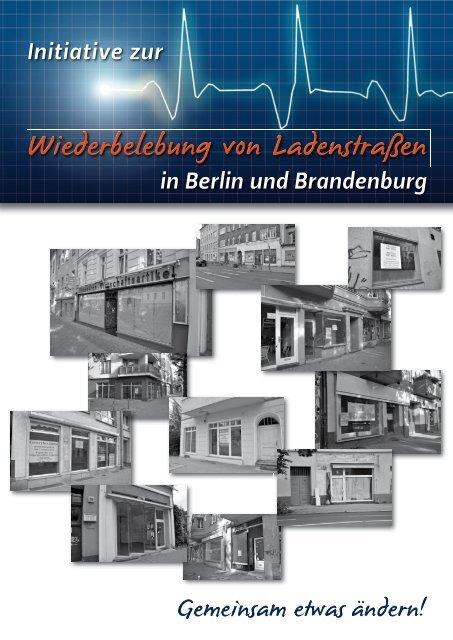 """""""Initiative zur Wiederbelebung von Ladenstraße ... - Eine Initiative von"""
