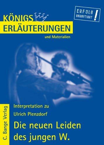 Erläuterungen zu Ulrich Plenzdorf - Die Onleihe