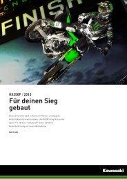 KX250F / 2013 Für deinen Sieg gebaut - moto poschung