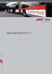 Geschäftsbericht VBSG 2008 - Seebus