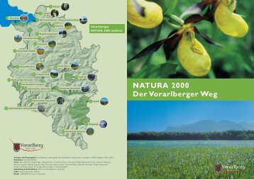 Broschüre Natura 2000 - Der Vorarlberger Weg (2004) (3.0 MB )