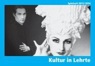 Kultur in Lehrte 2013/2014 - Stadt Lehrte