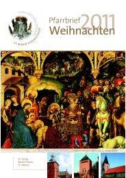 18:00 Uhr - Pfarrgemeinde St. Mariä Himmelfahrt