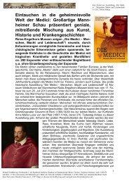 Eintauchen in die geheimnisvolle Welt der Medici: Großartige Mann ...