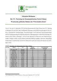 PDF-Download - 174 KB - Politik und Wirtschaft Chinas
