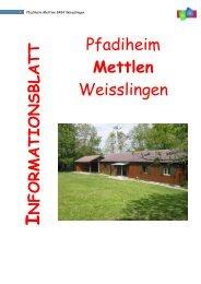 Pfadiheim Mettlen 8484 Weisslingen - Pfadiheim Weisslingen