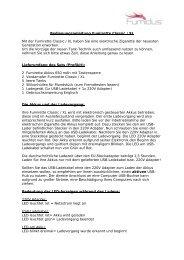 Bedienungsanleitung Fumirette Classic / XL Mit der ... - e Liquid Shop