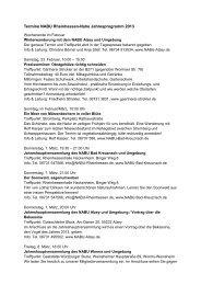 Details im Jahresprogramm - NABU Regionalstelle Rheinhessen ...