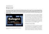 Bologna-Reform und ihre Folgen - Studienstiftung