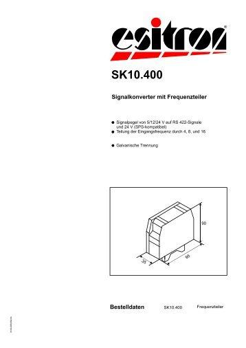 SK10.400 - esitron