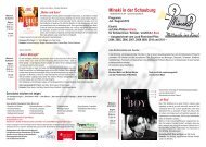 Der Programmflyer für Juli und August zum Download - Stadt Neuwied