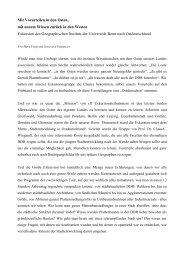 Große Exkursion: Stadtentwicklung in Ostdeutschland