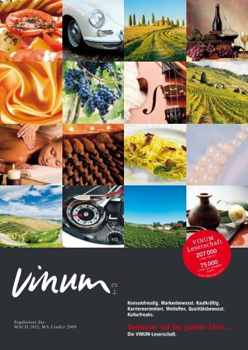 Leserschaftsanalyse 2013 (Schweiz) - Vinum